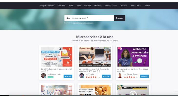 site micro service 5euros