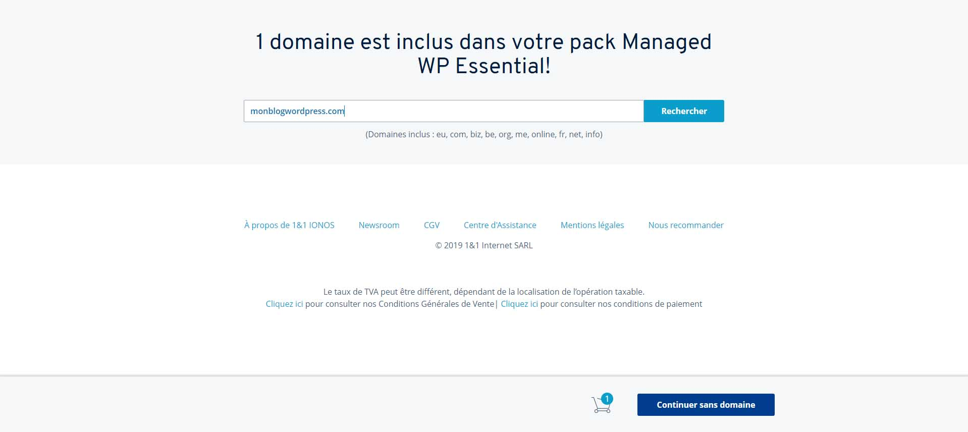 Créer son Blog Wordpress 2
