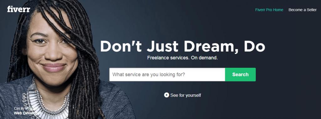 fiverr site micro services
