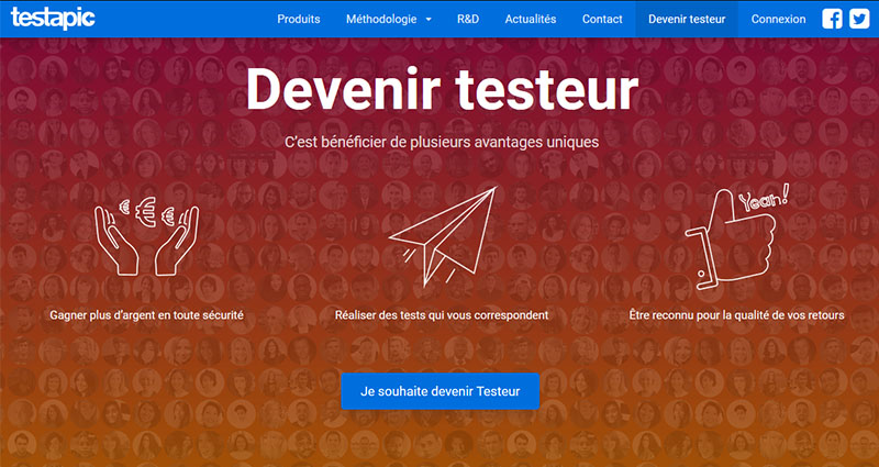 Devenir testeur rémunéré de sites web