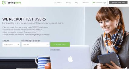testingtime site de test de site web