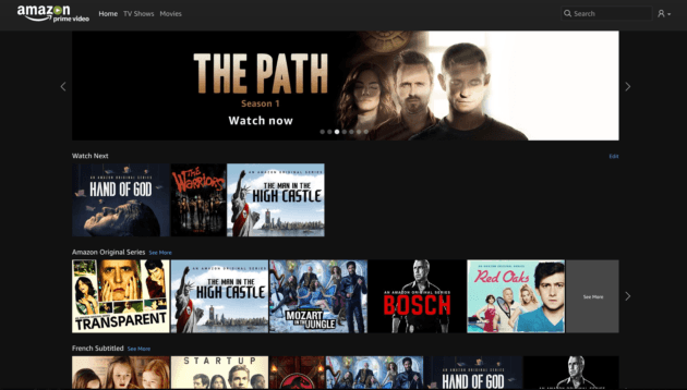 amazon prime video en streaming